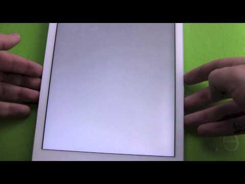 Apple iPad Air - display illumination problem
