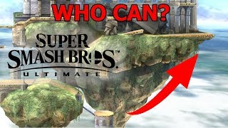 Who Can Make the Hyrule Temple Jump? - Super Smash Bros. Ultimate