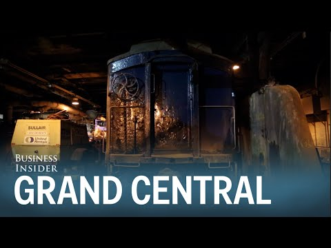 Tour of Grand Central's top-secret tunnel that only presidents use