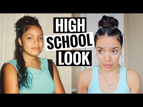HOW I DID MY MAKEUP IN HIGH SCHOOL | (Pics Included) Milca Rhodes