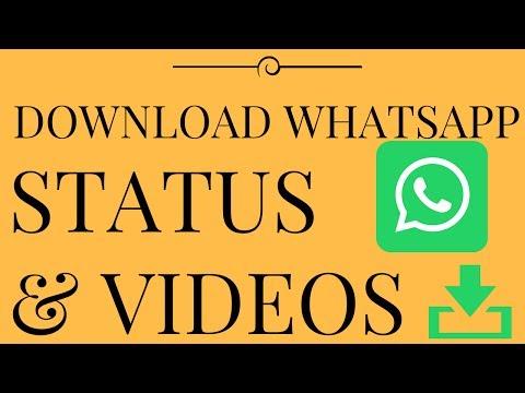 How to DOWNLOAD WHATSAPP status videos - 2 Amazing tricks to download Whatsapp Status