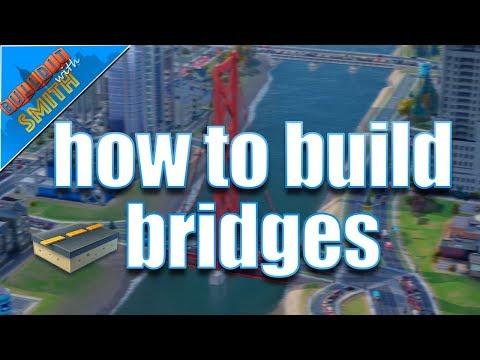 SimCity Buildit   How To Build Bridges - Exclusive University Bridges