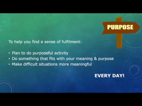 Find Meaning & Purpose