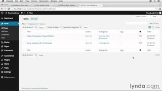 Dreamweaver CC and Wordpress Tutorial #32 Working with categories and posts