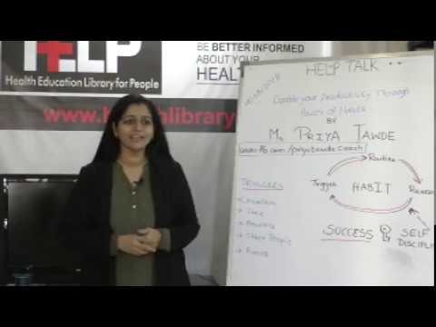 Double Your Productivity Through Power of Habits By Ms. Priya Tawde  on  Health HELP Talks