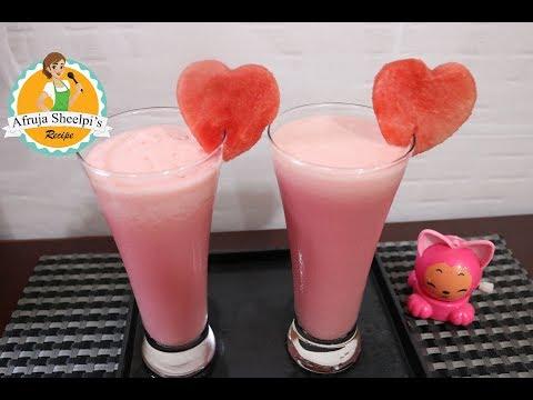 তরমুজের মিল্কশেক || ইফতার ড্রিঙ্কস |Watermelon Milkshake | Watermelon Smoothie| Summer Drink Recipes