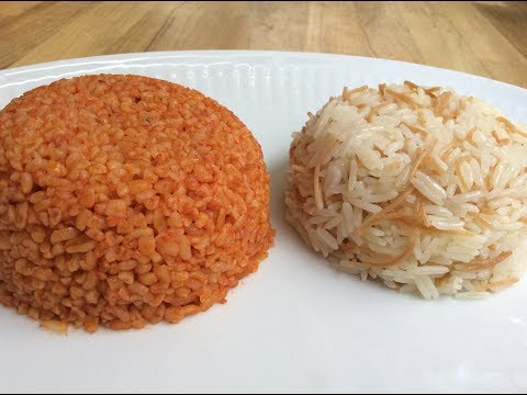 SIMPLE BUT TASTY RICE AND BULGUR PILAF RECIPES