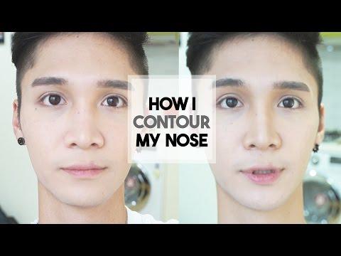 HOW I CONTOUR MY FILIPINO NOSE - Edward Avila