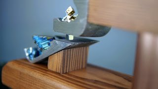 Levitate a Magnet with Bismuth Crystals - No Energy Cost, Indefinite Levitation - NightHawkInLight