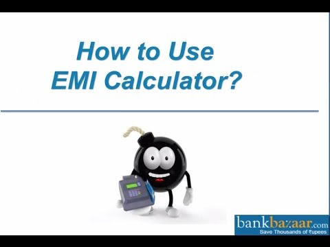 How to Use EMI Calculator?