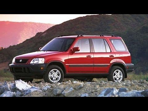 2000 Honda CR V Start Up And Review 2.0 L 4 Cylinder