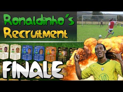 THE FINALE OF RONALDINHO'S RECRUITMENT