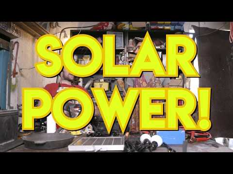 How to Make a Solar Powered Wheelchair | Earth Your While