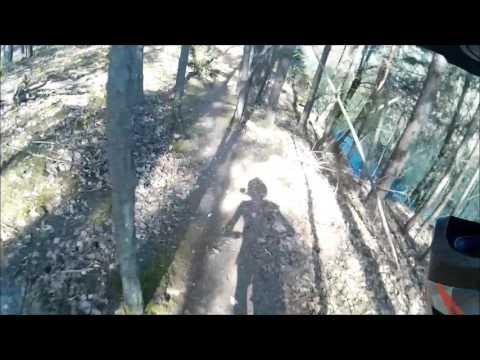 Cooler Bike-Trail um See in altem Steinbruch || neues Format !!! ||