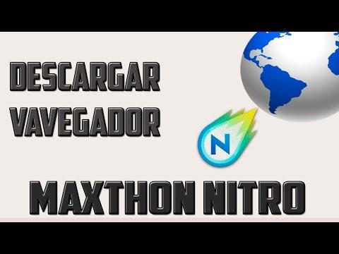 Descarga el nuevo y potente navegador |MAXTHON NITRO| 2015