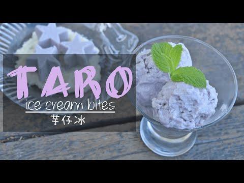 Taro Ice Cream Bites (芋仔冰/芋頭雪糕)