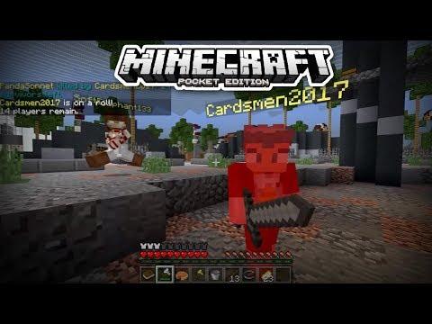 I AM GODLIKE! - Minecraft PE Survival Games