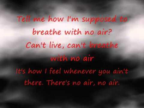 NO AIR - Austin Mahone & Alyssa Shouse duet cover (Lyrics) (Chris Brown Jordin Sparks)
