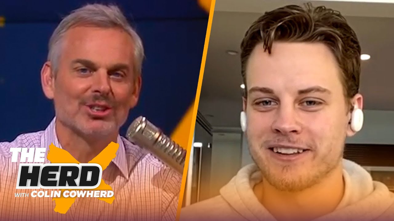 Joe Burrow evaluates his rookie year in NFL, talks recovery process & trash talkers | NFL | THE HERD