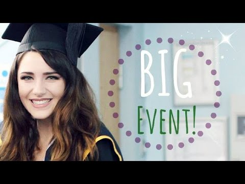 Get Ready With Me: University Graduation! | Melanie Murphy