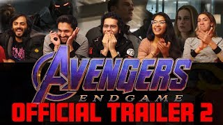 Download The Avengers: Endgame - Official Trailer - Group Reaction Video