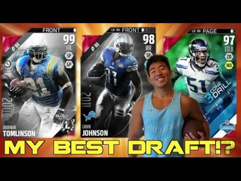 MY BEST DRAFT IN AWHILE! I GET MY FAVORITE PLAYER! MADDEN 16 DRAFT CHAMPIONS