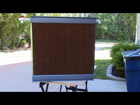 Greenhouse Evaporative Cooler Build
