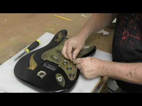 Steampunk Electric Guitar