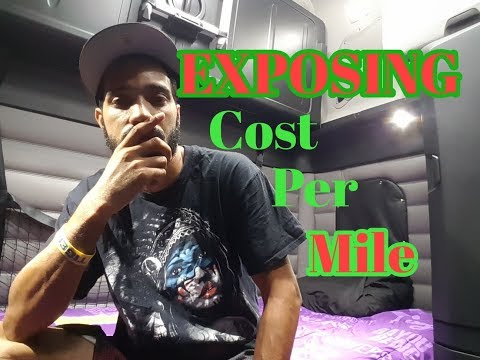 Trucking | Cost Per Mile of Operation | LoShawn Parks