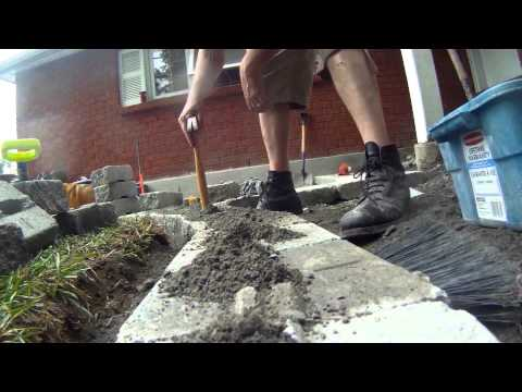 ***How to replace cement steps with stone steps and patio