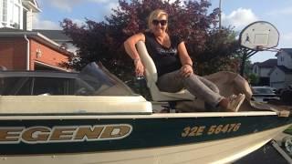 Belwood Lake Fisher Girl