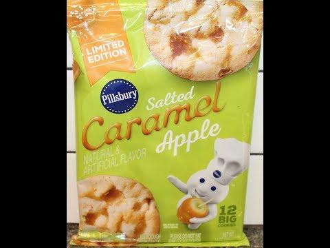 Pillsbury Salted Caramel Apple Cookies Review