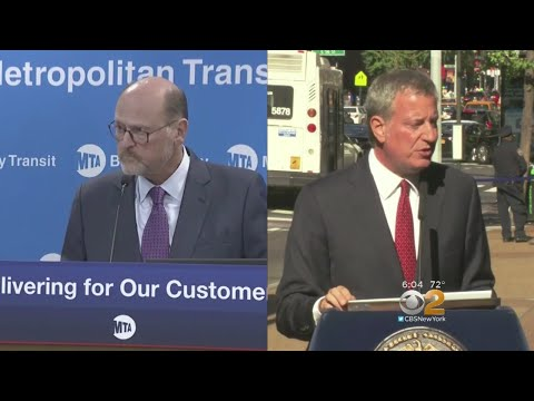 Strong Pushback Against De Blasio's Plan To Ease City's Congestion