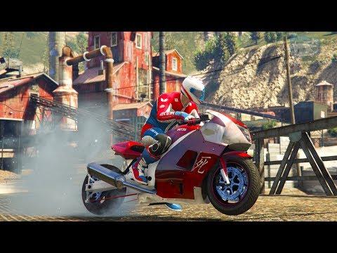 GTA Online Time Trial - Sawmill (Under Par Time)