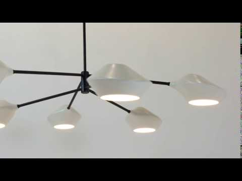 Orb Chandelier, Schmitt Design