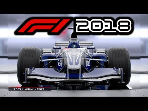 F1 2018 CLASSIC CARS [FR]: Brawn GP & Williams FW25!