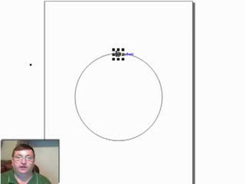 Designing a Clock Face in Corel Draw.