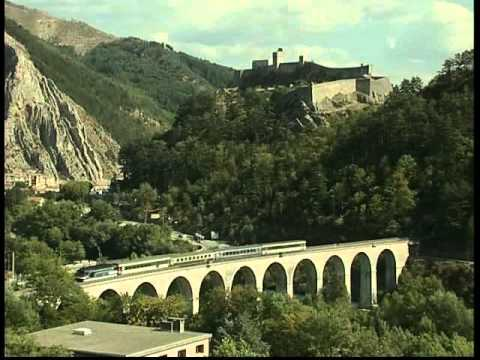 La ligne des Alpes - Marseille Luz la croix haute - Grenoble