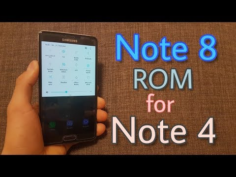Install Galaxy Note 8 ROM on the Galaxy Note 4