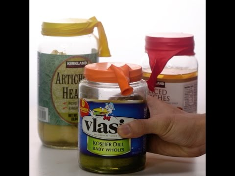 How to Seal a Jar with a Balloon
