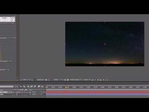 After Effects CS4 Project - How to Make an Awesome Meteor Shower / Asteroid