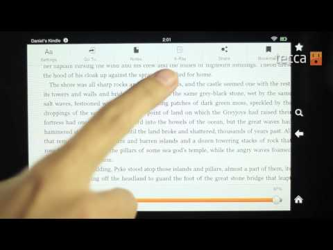 Just Show Me: Video tour of the Kindle Fire HD