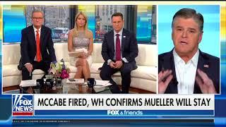 Hannity attacks Comey and McCabe on Fox & Friends