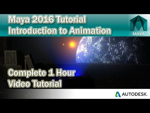 Maya Animation Tutorial for Beginners 2016
