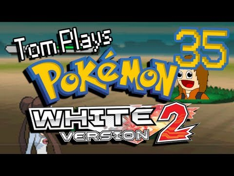 Tom Plays Pokemon White 2 [Mystery Egg Run] Part 35 - Catching Cobalion?