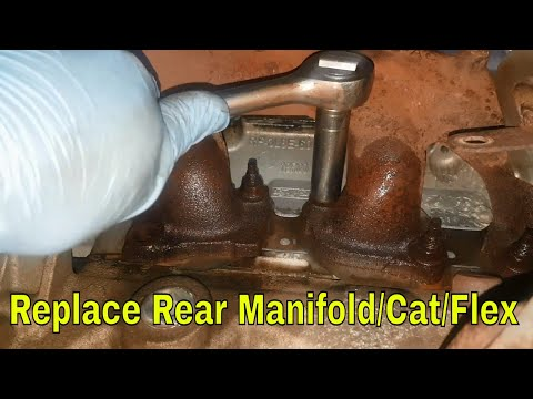 How to remove rear manifold/cat converter/flexi on a Ford Mondeo MK3 (Project ST220)