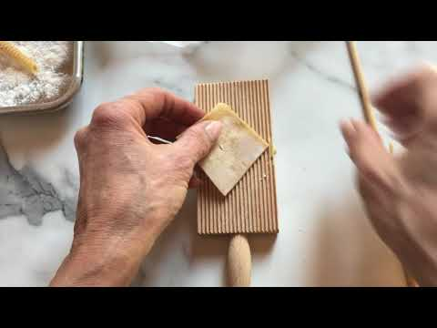 How to Make Homemade Garganelli Pasta