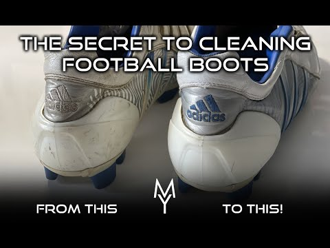 THE SECRET TO CLEANING FOOTBALL BOOTS! FROM 3G / 4G / ARTIFICIAL PITCHES! NIKE ADIDAS PUMA