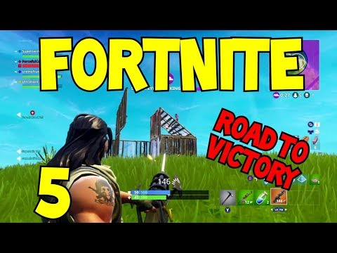 Road to Victory 5 Fortnite: Battle Royale