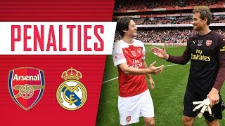Lehmann scores the winning penalty?! | Arsenal legends v Real Madrid | The Arsenal Foundation